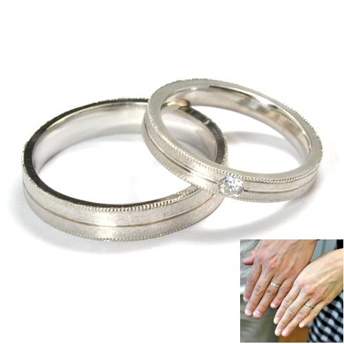 2011-73-7オーダー平打ち結婚指輪