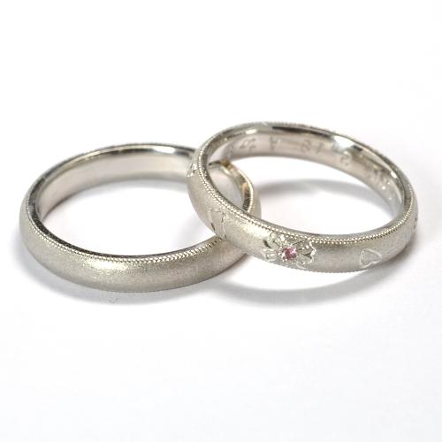 2011-74-3甲丸結婚指輪