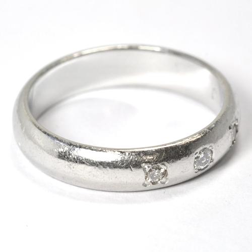 2011-97-4リフォームダイヤ指輪