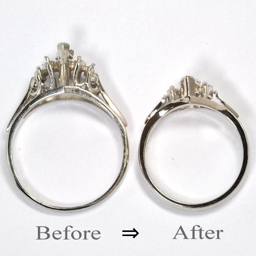 2011-104-5リフォーム婚約指輪