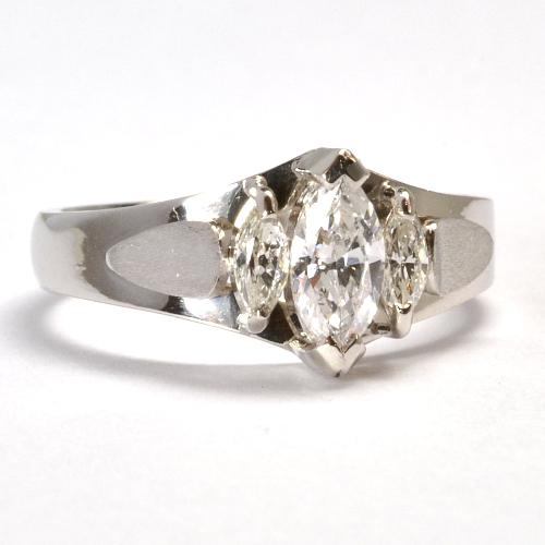 2011-109-3リフォーム婚約指輪