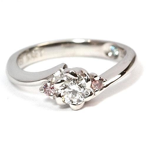 2011-111-1フローラデザイン婚約指輪