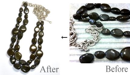 2012-50-3石ネックレスの糸換え