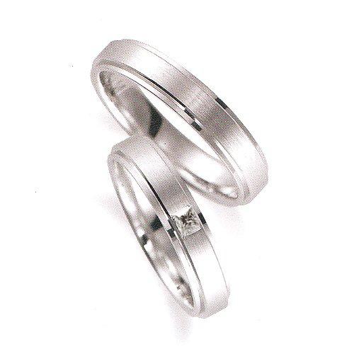 2013-31-4角ダイヤ結婚指輪