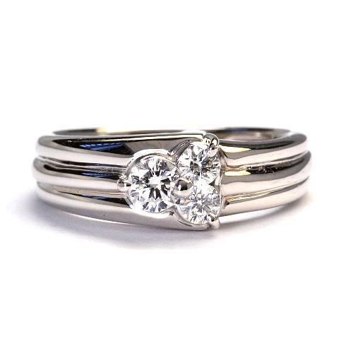 2014-10-1ダイヤデザインリング
