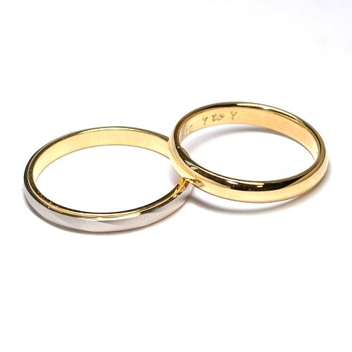 2014-87-3ルビー婚ペアリング